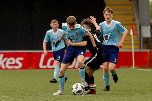 Kerse United 1 Knightswood 1: Trophy to Grangemouth after Youth Cup final penalty shoot-out Tense Scottish Cup win on penalties for Kerse United