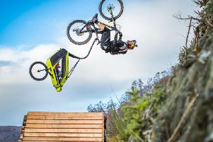 Danny MacAskill's new video was made around Scotland over the last two years.