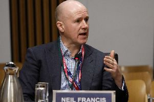 Neil Francis, director of international trade and investment operations at Scottish Development International, hopes the move will encourage more companies to lay down roots in Kirkcaldy. Picture: Andrew Cowan