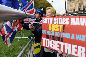 Too little has been done to reach out across the Brexit divide, leading to uncertainty, anger and despondency (Picture: Leon Neal/Getty Images)