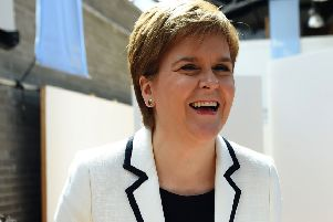 Nicola Sturgeon backs comments from the SNP's leading EU candidate Alyn Smith. Picture: Andy Buchanan/AFP/Getty Images