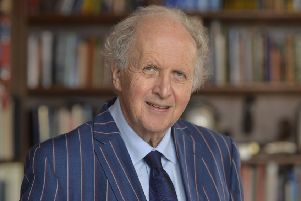 Alexander McCall Smith PIC: Kirsty Anderson