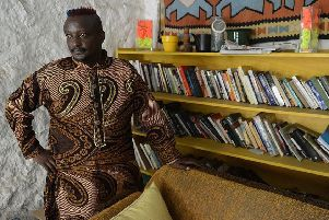 Binyavanga Wainaina in 2014       (Picture: SIMON MAINA/AFP/Getty Images)