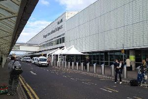 Workers are set to go on strike at Glasgow Airport