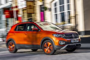 The T-Cross has excellent economy thanks to the Volkswagen Group's lauded one-litre petrol turbo engine