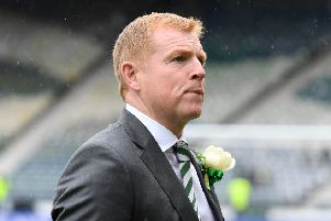 Celtic have offered the permanent manager's job to Neil Lennon. Pic: SNS