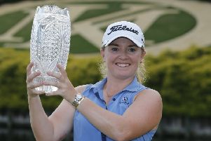 Bronte Law won by two shots in the Pure Silk Championship. Picture: AP.
