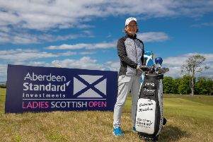 Catriona Matthew at The Renaissance Club, which hosts both the men's and women's Aberdeen Standard Investments Scottish Opens. 'Picture: Kenny Smith