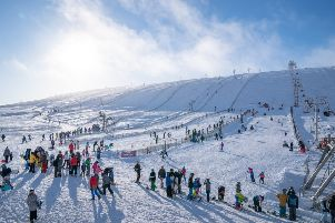 The Lecht on 2 February 2019. Scotland's smallest ski resort, at least, had a reasonably good season PIC: Jasperimage