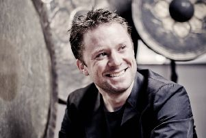 World renowned percussionist Colin Currie.  Picture: Marco Borggreve