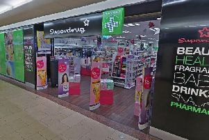 The incident took place at the Superdrug in Overgate Shopping Centre, Dundee. Picture: Google Map
