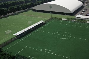 Images of the proposed redevelopment to Celtic's training facilities.