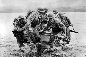 Scotland led the way with Commando training ahead of D-Day with the six-week course at Achnacarry Castle near Fort William harsh and effective. PIC:  US National Archives and Record Administration.'' ''The Achnacarry Commando training at Achnacarry Commando 'course was rigorous and effective.