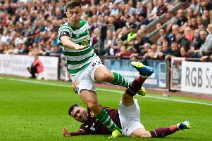 Kieran Tierney and Michael Smith were among the best full-backs. Picture: SNS