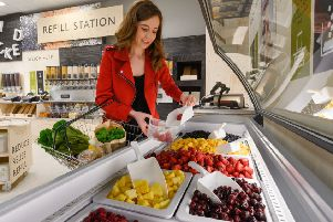 Waitrose will allow customers to fill up their own containers with products.