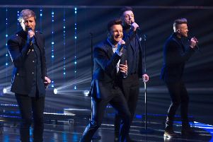 Former boys next door Kian Egan, Shane Filan, Mark Feehily and Nicky Byrne were professional but this show lacked personality''Picture: Brian J Ritchie/Hotsauce