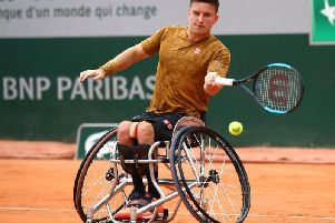 Gordon Reid has reached his first grand slam singles final for three years