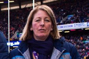 SRU president Dee Bradbury is a member of Oban Rugby Club. Picture: SNS/SRU.