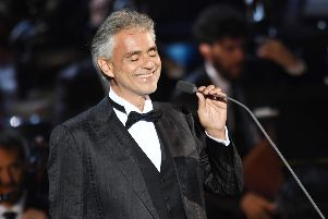 Andrea Bocelli tickets are fetching huge prices on StubHub. Picture: Francesco Prandoni/Getty Images