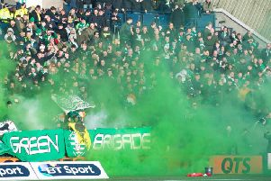 Celtic fans top a list for the most amount of pyrotechnic devices in 2018/19