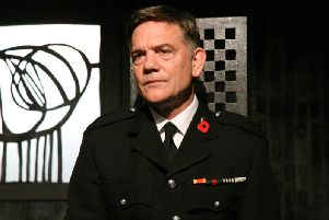 John Michie played a fire commander suffering from post-traumatic stress in The Mack.