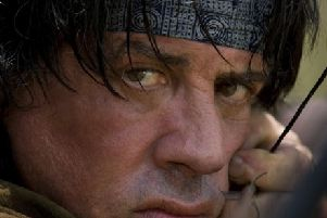 Sylvester Stallone is returning to his iconic Rambo role at the ripe old age of 72. Picture: PA