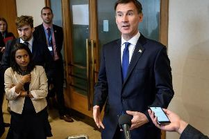 Foreign Secretary Jeremy Hunt is running to become the next Conservative leader and Prime Minister