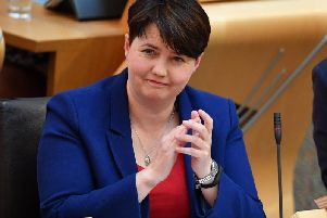 Ruth Davidson has been criticised for backing Sajid Javid in the Tory leadership race.