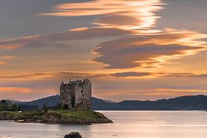 The haunting Castle Stalker.