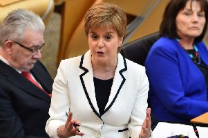 Nicola Sturgeon. Picture: AFP/Getty