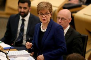 First Minister Nicola Sturgeon says Scotland and the UK are travelling down different political paths. Picture: PA