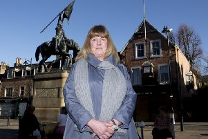 Hawick Community Council chairwoman Gillian Morgan.