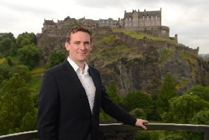 Stuart Lunn, chief executive and founder of peer-to-peer specialist LendingCrowd, is 'proud to be part of Edinburgh's thriving tech ecosystem'. Picture: contributed.