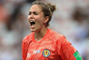 Lee Alexander showed her maturity in her fine performance against England, says Steve Banks. Picture: Getty.