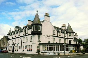 The 83-room Caledonian Hotel is likely the oldest in Ullapool. Picture: Contributed