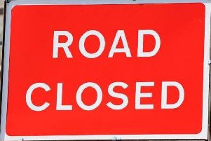 The A92 will see closures over four days.
