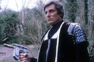 Paul Darrow, who played Avon in Blake 7, has died at the age of 78. Picture: PA