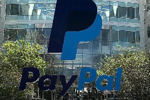 PayPal encourages customers to use its credit service. Picture: Justin Sullivan/Getty