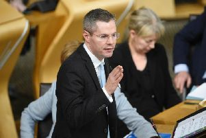 Derek Mackay says he may have to look at spending