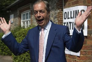 Nigel Farage launched the Brexit party in November 2018 after quitting UKIP