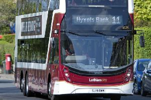 Scottish councils would be able to run their own bus services like Lothian Buses in Edinburgh