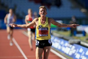 Andrew Butchart is targeting his own  Scottish 3,000m record at the Diamond League meeting at the Bislett Stadium in Oslo. Picture: Clint Hughes/Getty
