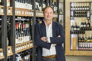 Rowan Gormley, group chief executive of Majestic, said multiple bidders have entered the frame to buy the group's retail business. Picture: Guy Bell