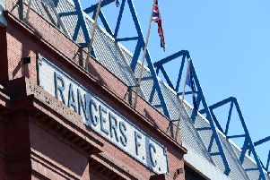 A general view of Rangers' Ibrox Park stadium