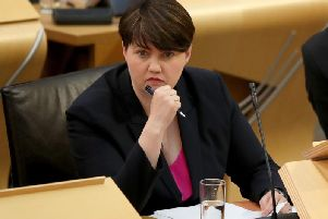 Ruth Davidson said most Scots did not want another referendum