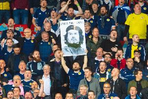 Rangers have the biggest percentage of Scotland supporters.Picture: SNS