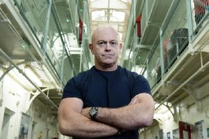 The notorious prison was the focus of the documentary, Ross Kemp Behind Bars: Inside Barlinnie. Picture: STV