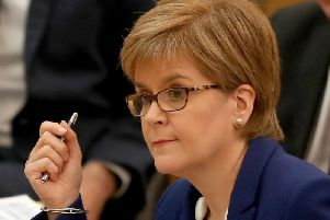 First Minister Nicola Sturgeon has urged Scottish Labour leader Richard Leonard to back a second independence referendum.