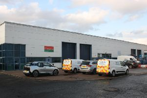 Clifford Court at Ibrox Business Park has been sold to Buccleuch Property Group for 875,000. Picture: Contributed