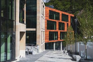 Keys to the new UK government hub in central Edinburgh have been handed over ahead of schedule. Picture: Contributed